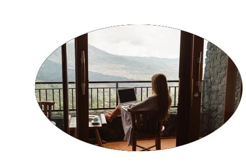オンラインデート 風景